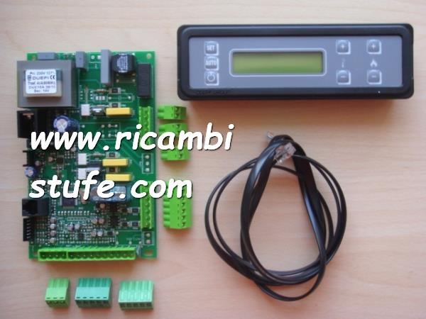 Kit elettronica completa per stufe termostufe e caldaia for Candelette per stufe a pellet