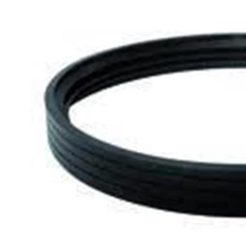 silicone gasket resistance 300 ° c for pellets tubes 100 mm