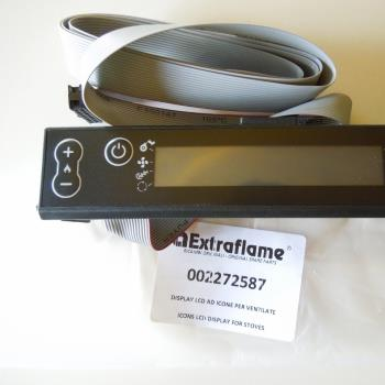 Lcd display for air/hydro Pellet stoves new stove