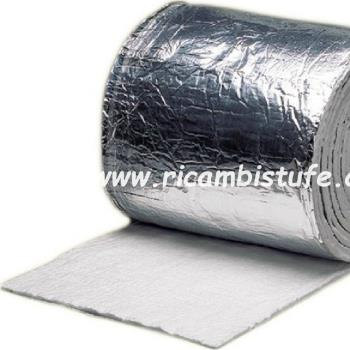 eco ceramic wool with aluminum 14.60 mt * 61 cm sp 13 mm